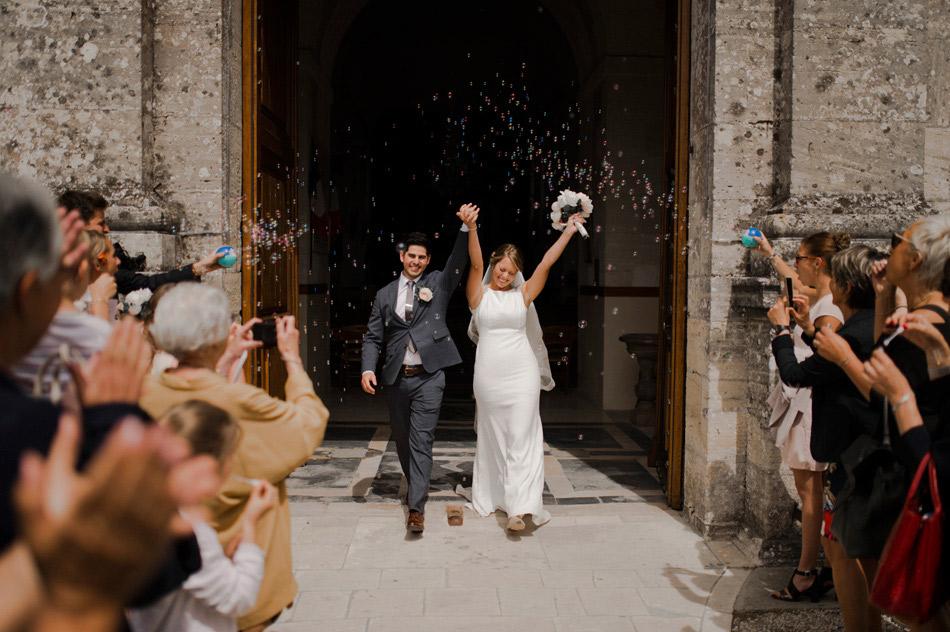 sortie photo des mariés