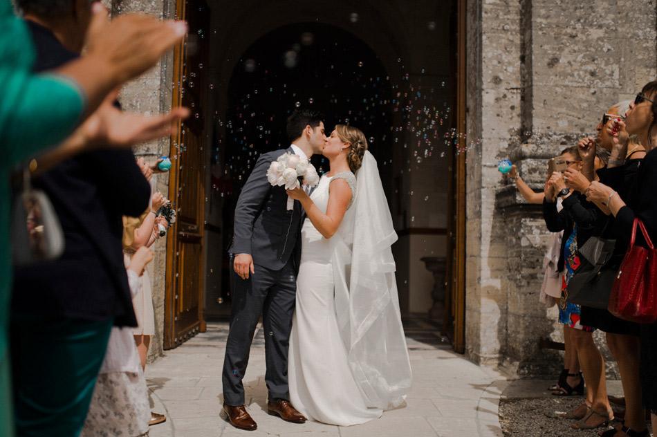 sortie des mariés Bayeux