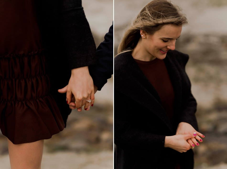 wedding proposal at mont saint michel