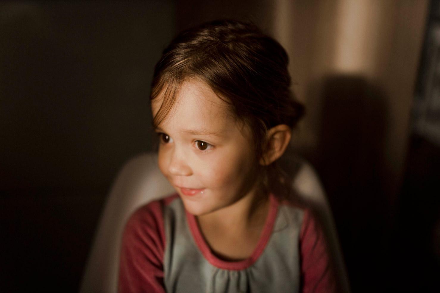 portrait d'enfant Cléo