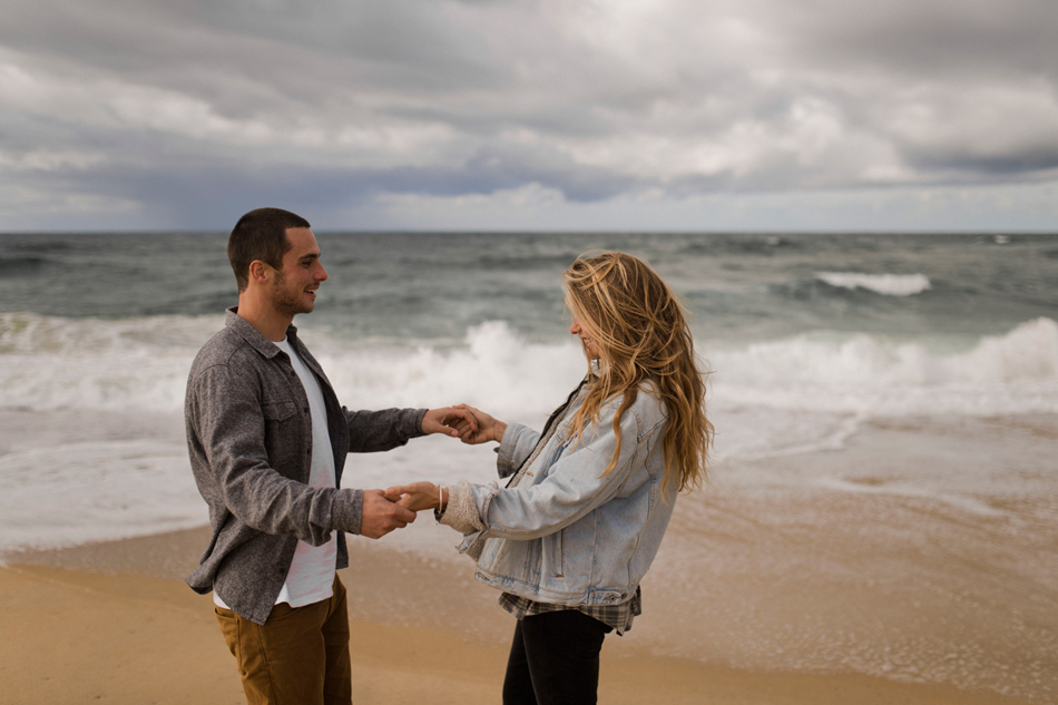 engagement shoot Biarritz