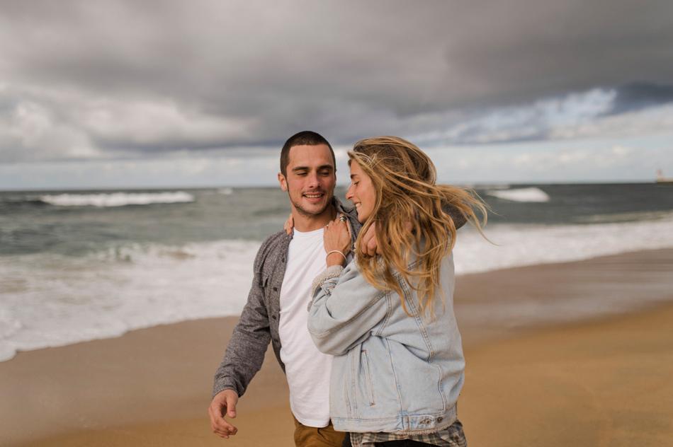 couple shoot basque country