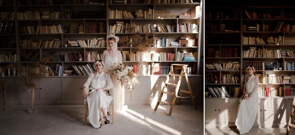 mariées bibliothèque