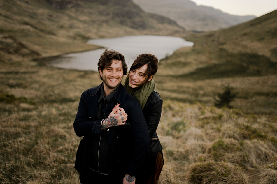 couple shoot in glencoe