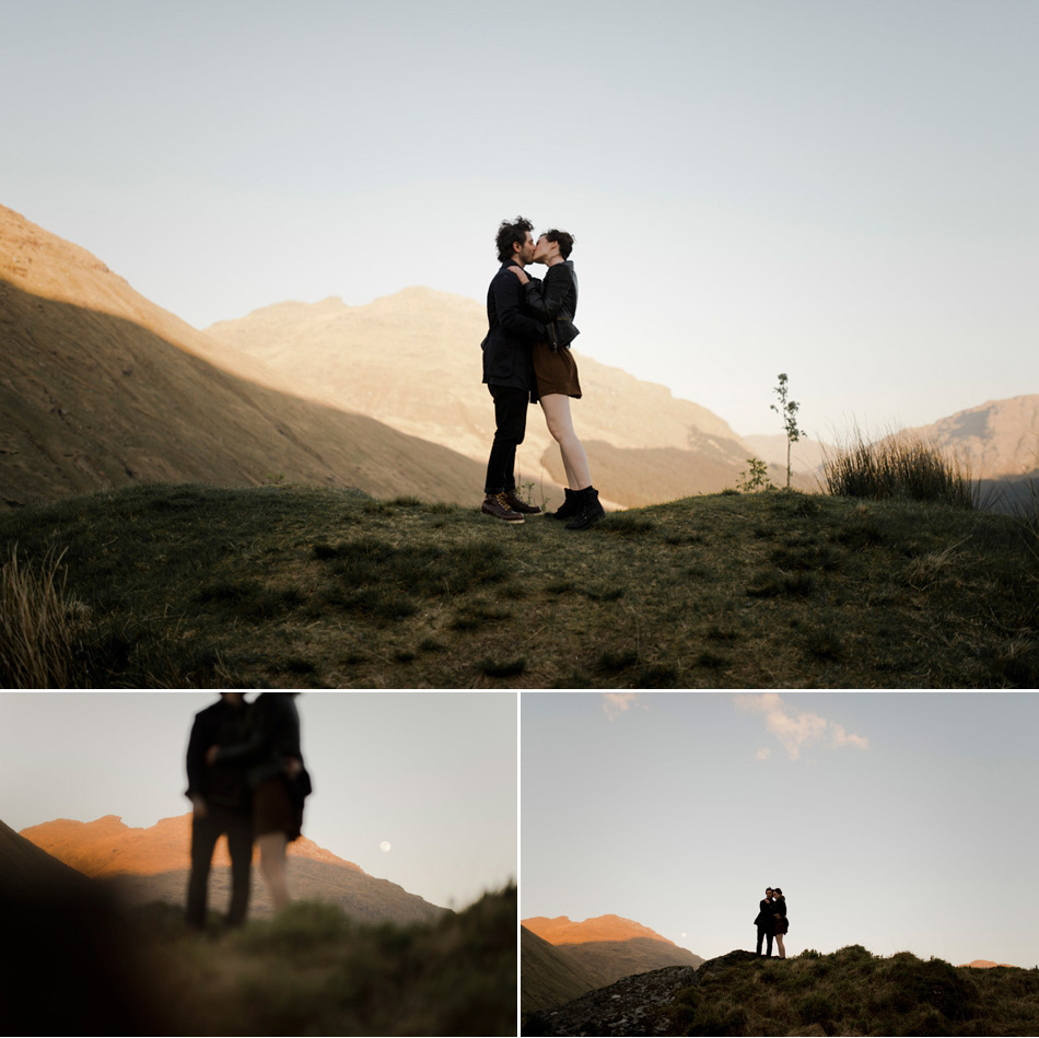 couple shoot glencoe