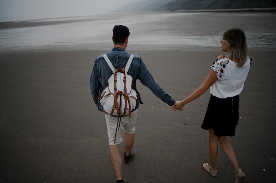 photographie de couple voyageur
