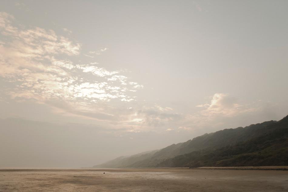 paysage plage normande