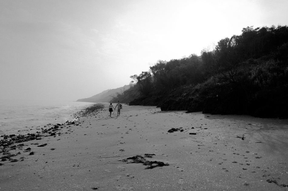 couple en noir et blanc caen