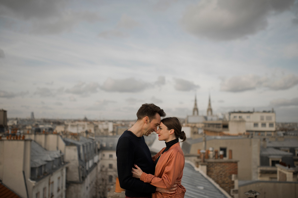 photo de couple à paris
