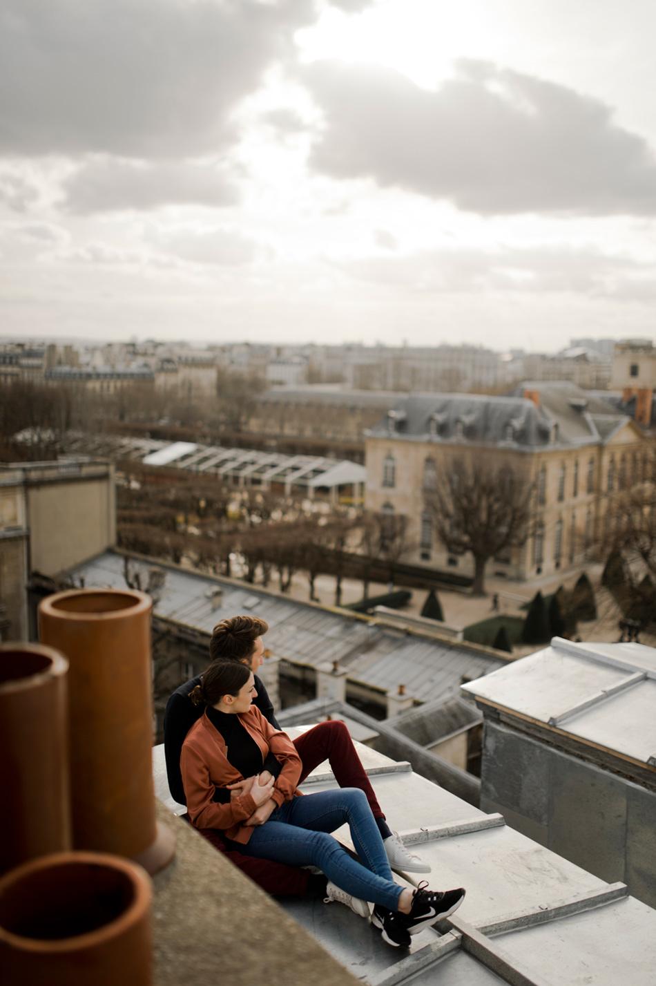 engagement toits de Paris
