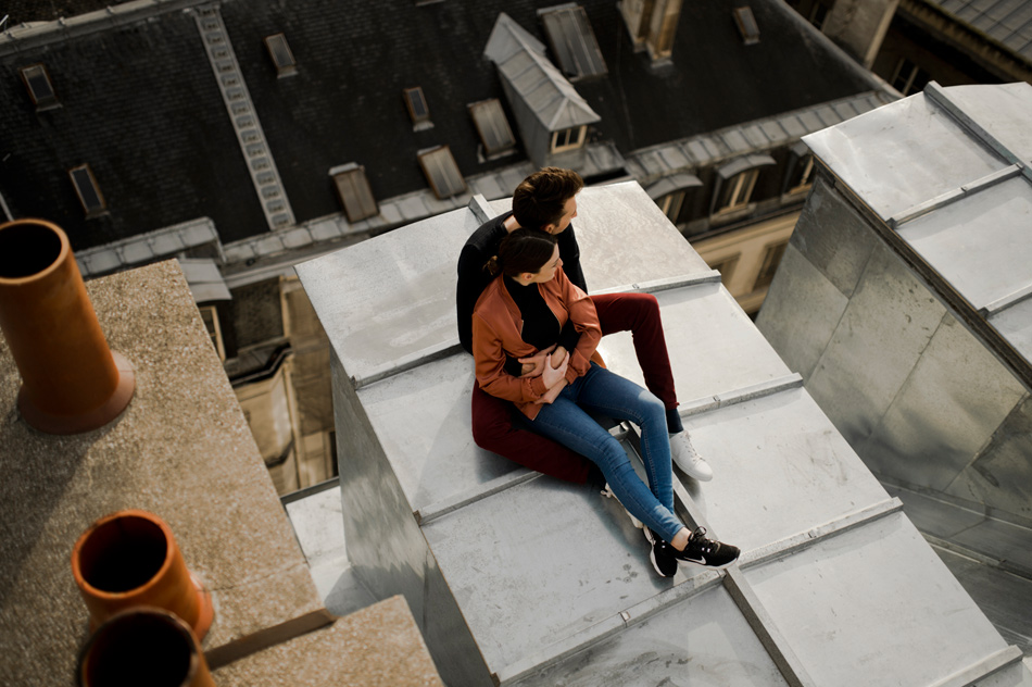 engagement session rooftops