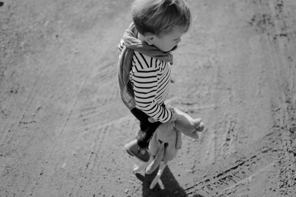 enfant plage granville