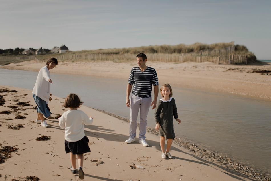 photographie de famille en Normandie