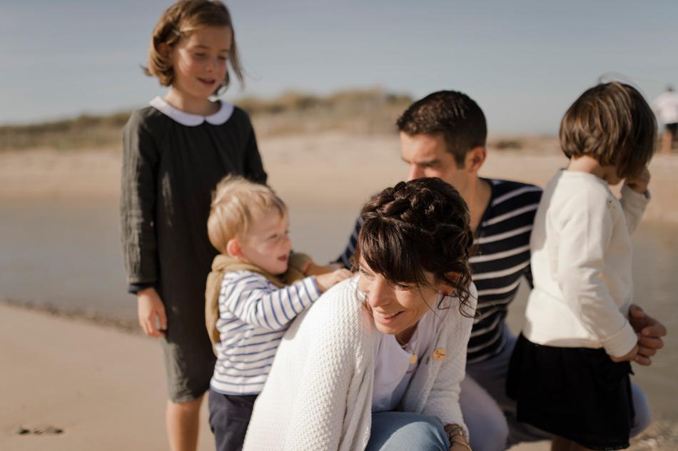 photographie de famille Normandie