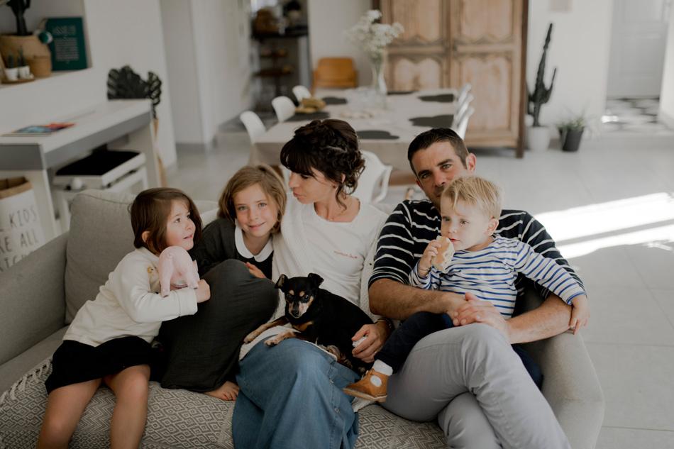 photo de famille à la maison caen