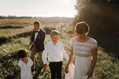 mariage gloden hour normandie