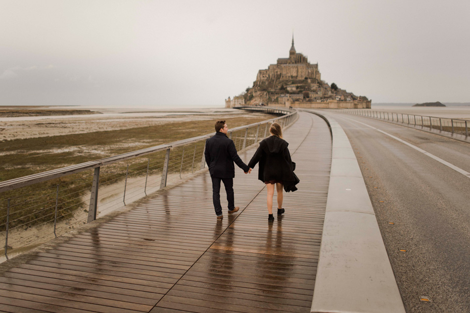 engagement le mont saint michel