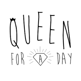 Queen for a day logo