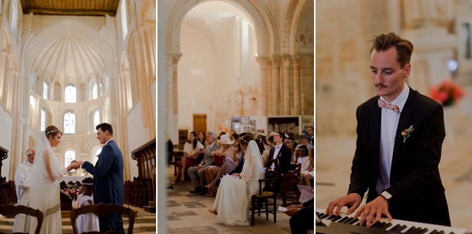 tryptique mariage église