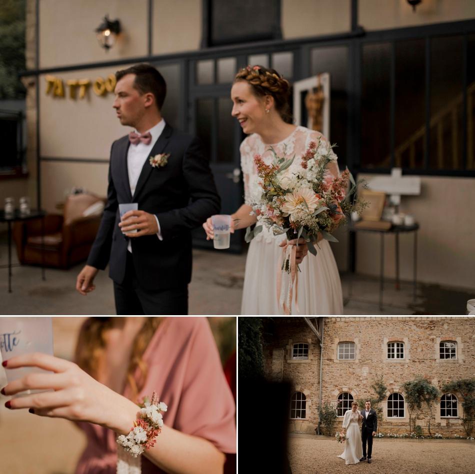 mariage en septembre normandie