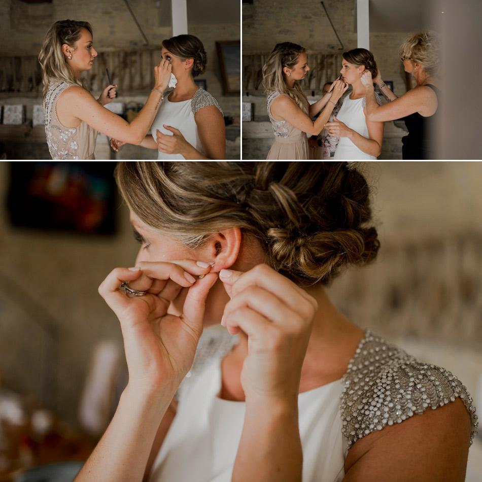 boucles d'oreille mariage normandie