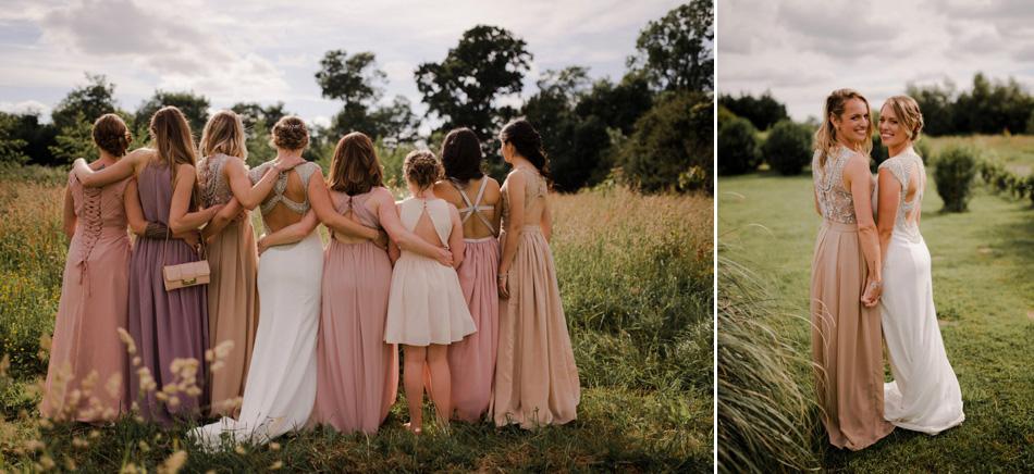 photos de groupe creative mariage