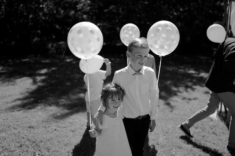 ballons confettis mariage