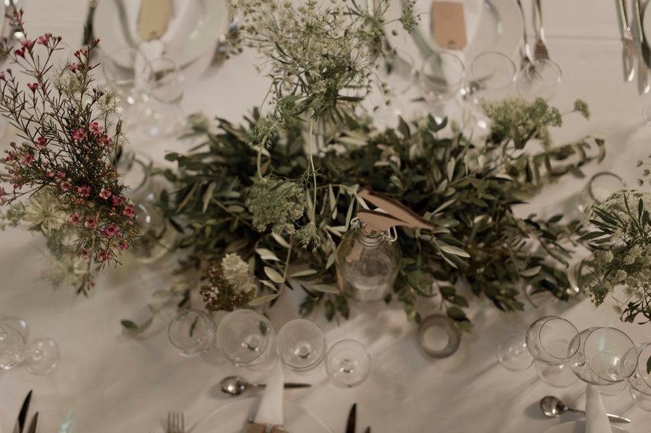 deco de table vegetale mariage