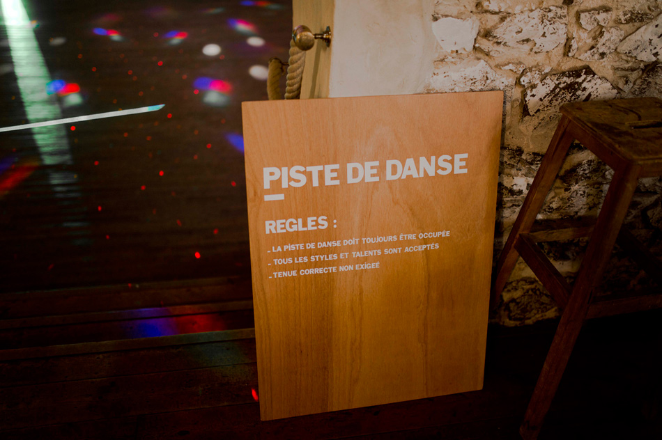 piste de dance monsieur+madame