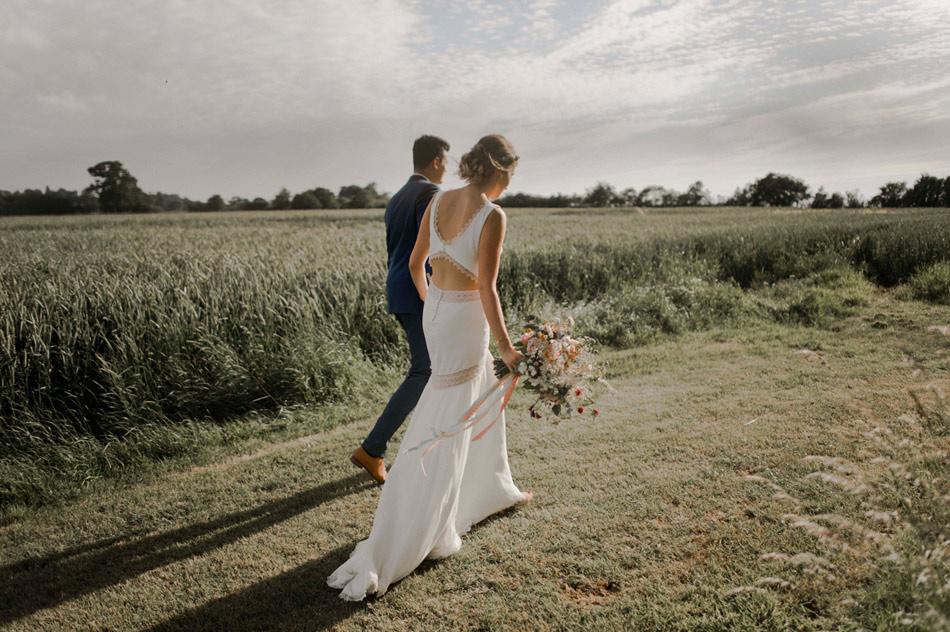 mariage boho photographe normandie
