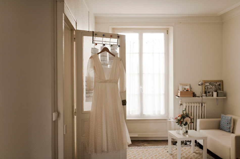 old styled wedding dress