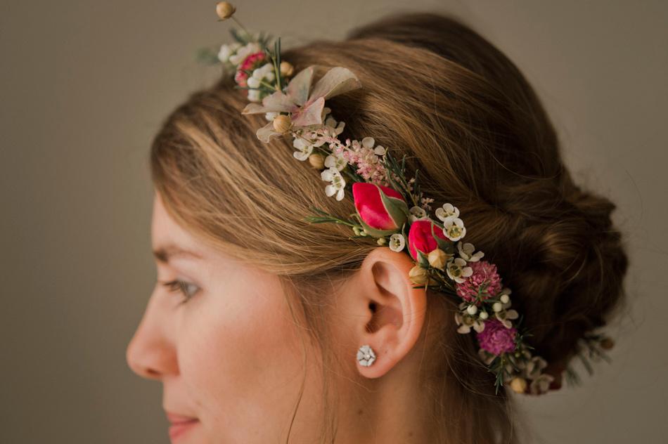 courone de fleurs mariage