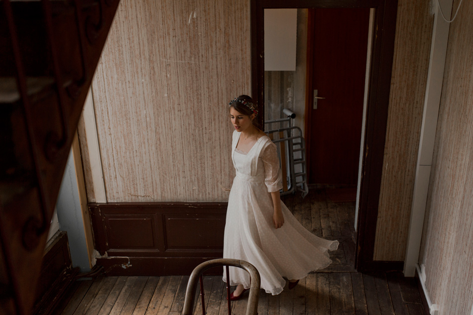 robe de mariage sur meusure