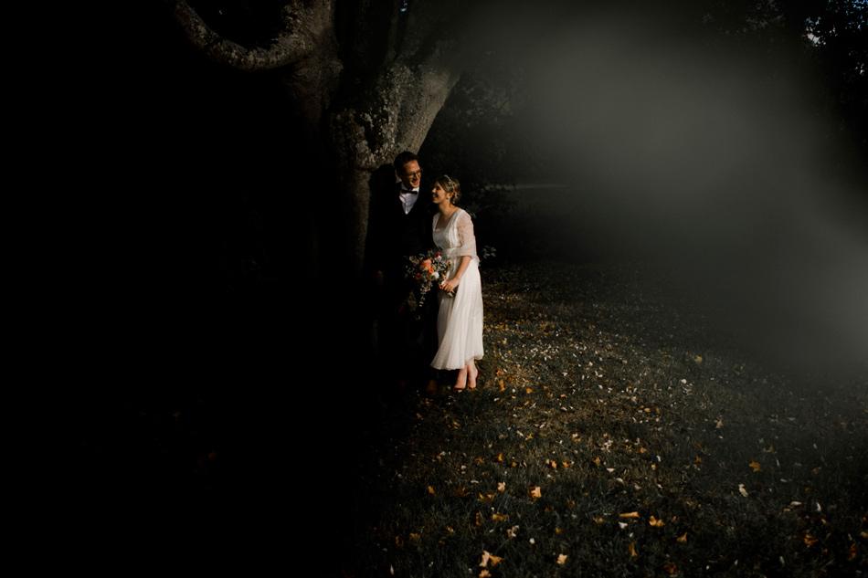 seance couple en automne