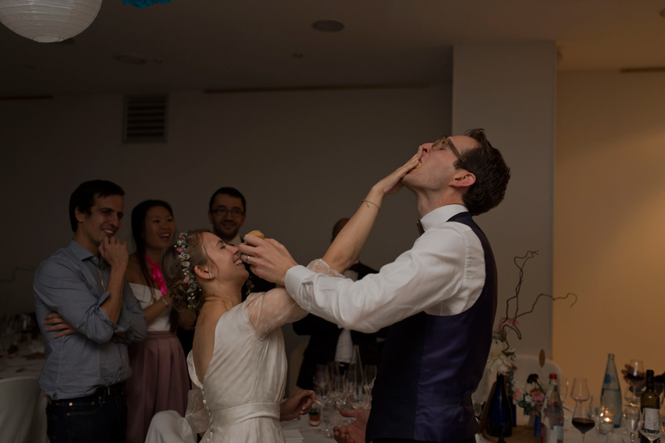 chou dans ta face au mariage