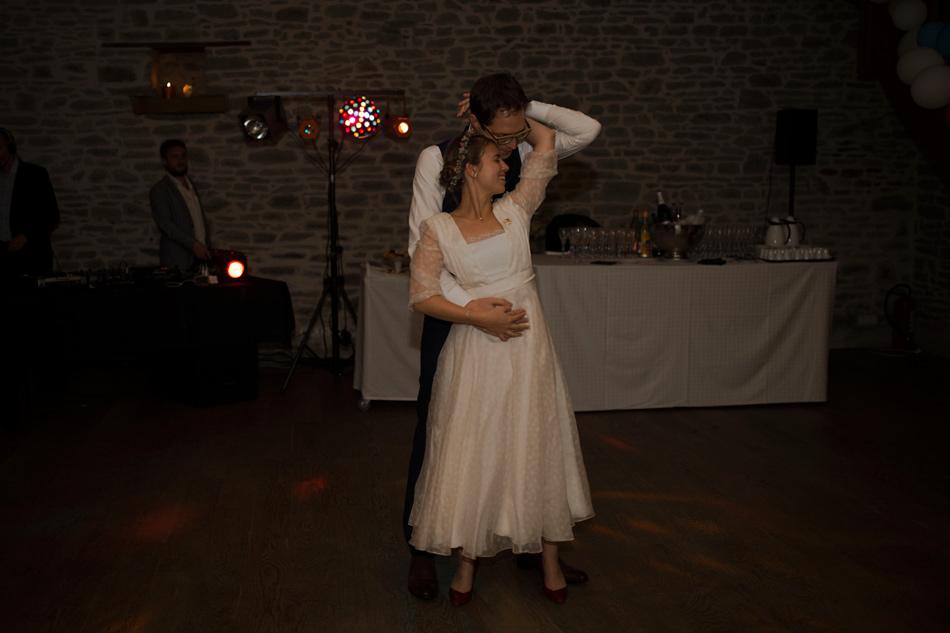 première danse des mariés andiablée