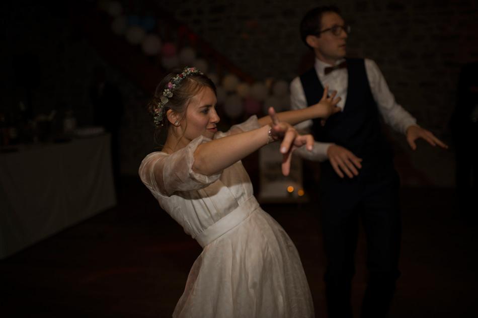 première danse des mariés folle