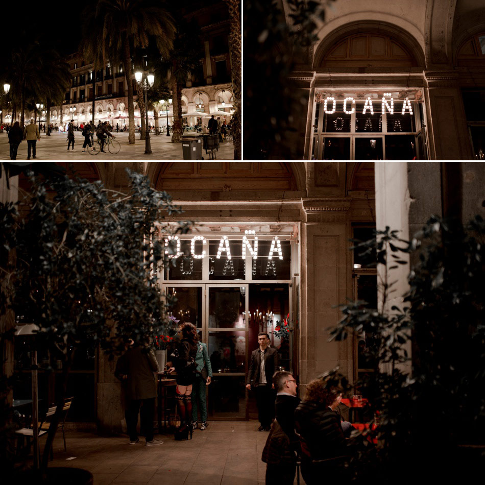 night photography Ocana Barcelona
