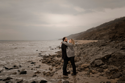 engagement falaises normandie
