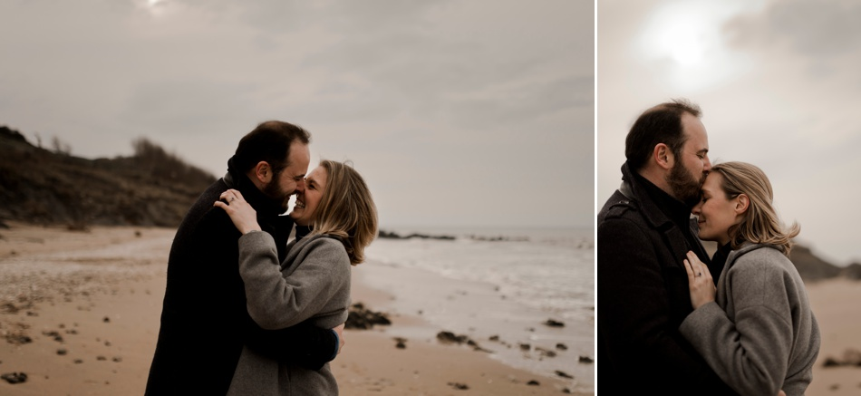 photographe engagement normandie