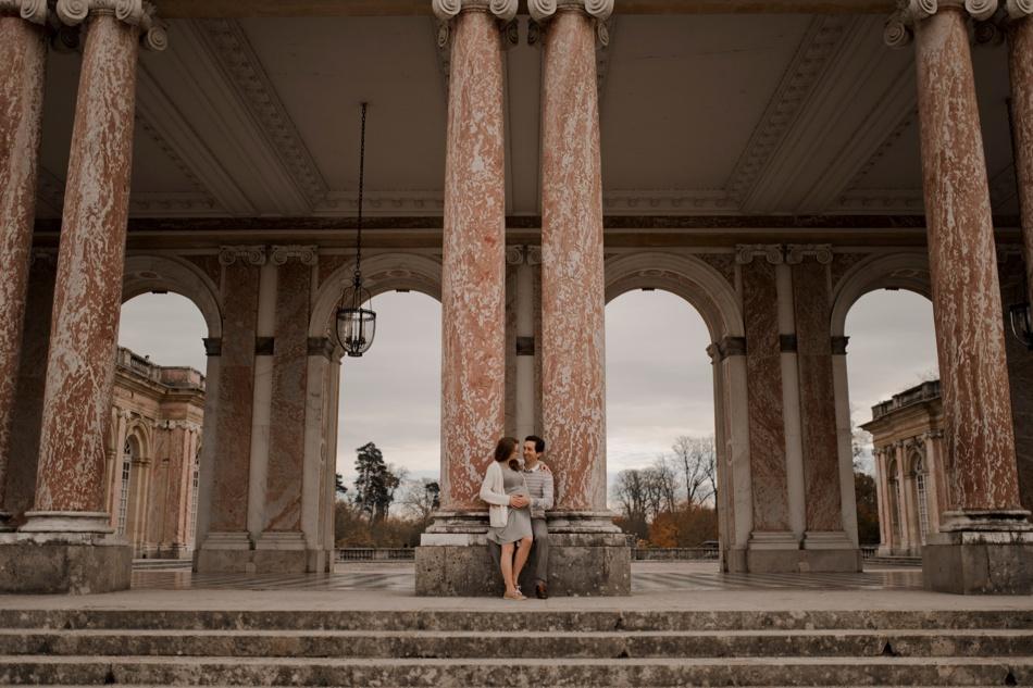 session maternité chateau de Versailles
