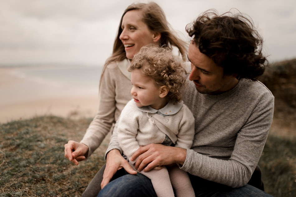 photo famille Cotentin