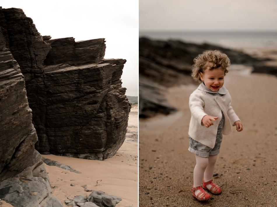 famille plage Normande