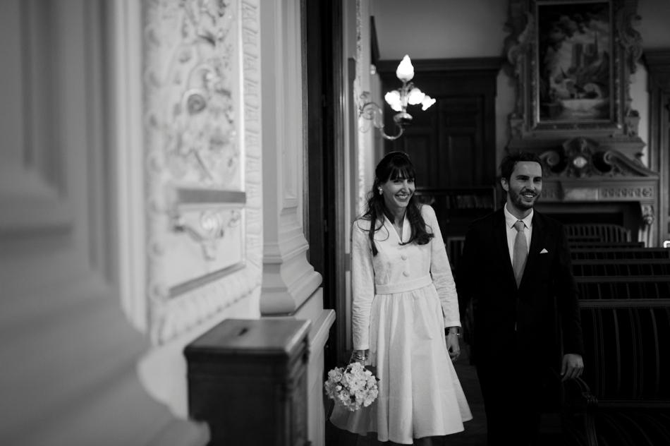 entrée mariés mairie de Paris