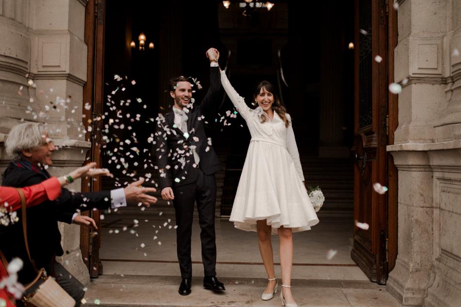 sortie confettis marie de Paris