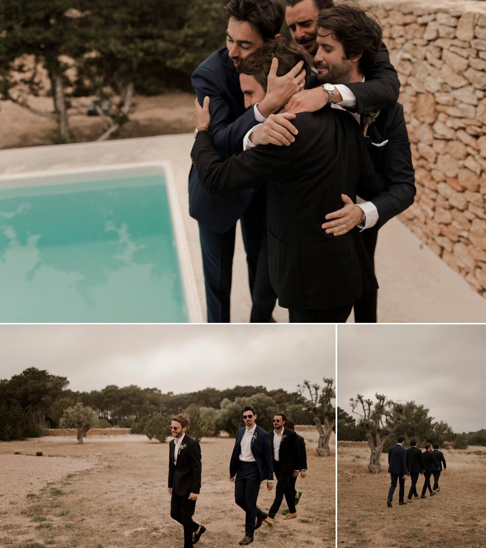 mariage au bord d'une piscine
