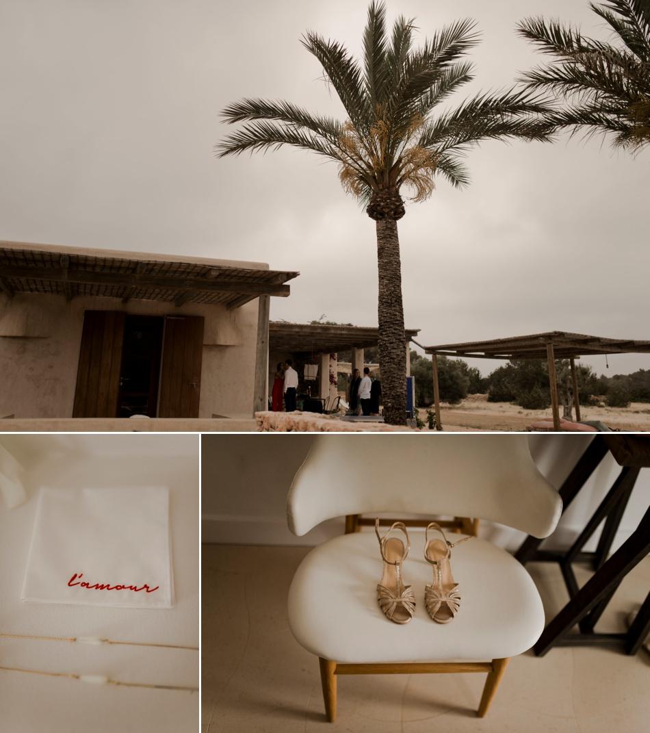 Details mariage de destination cocotiers