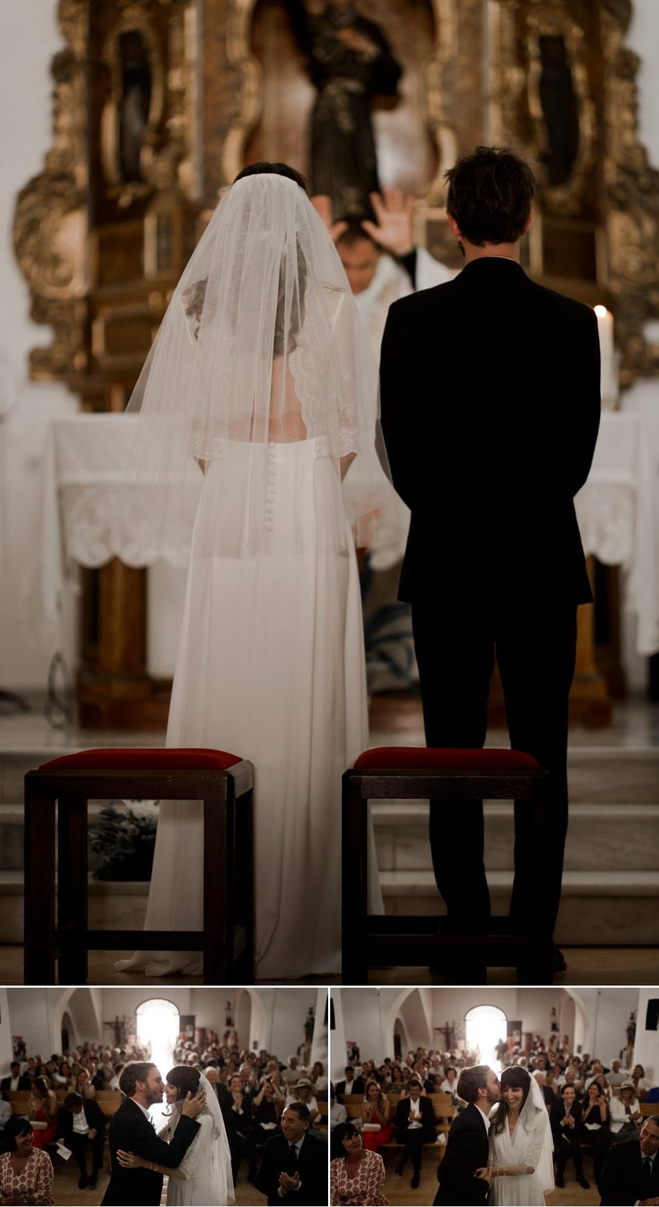 couple dans une chapelle
