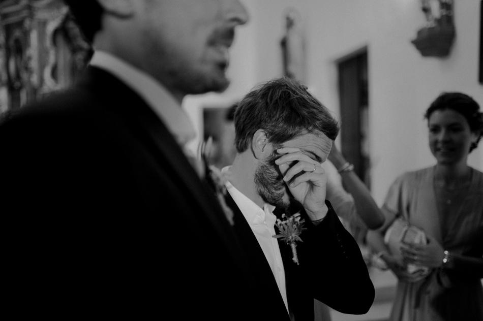 emotion du marié mariage