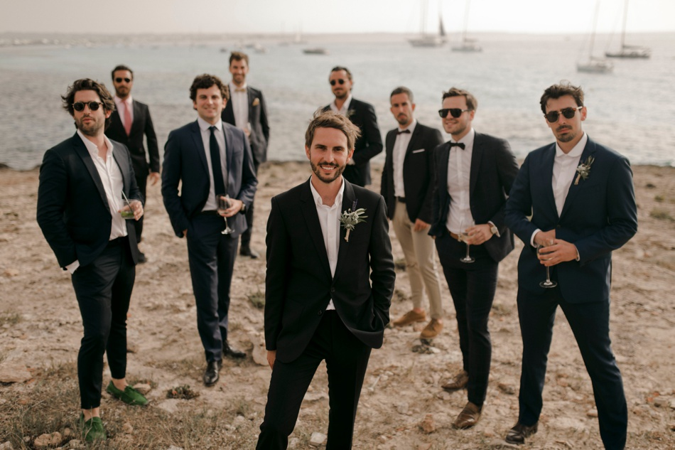 destination wedding photographer and videographer Formentera